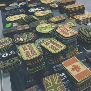 Airsoft Badges & Patches